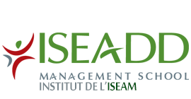 logo ISEAM école de management en alternance